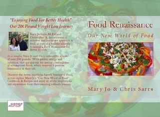 """Food Renaissance: Our New World of Food"" on Amazon Sarro.biz Sarro.us"
